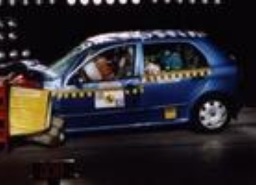 Crash test Skoda Fabia 5p
