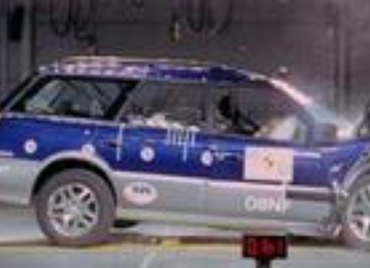Crash test Subaru Outback