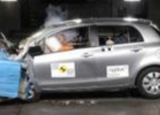 Crash test Toyota Yaris