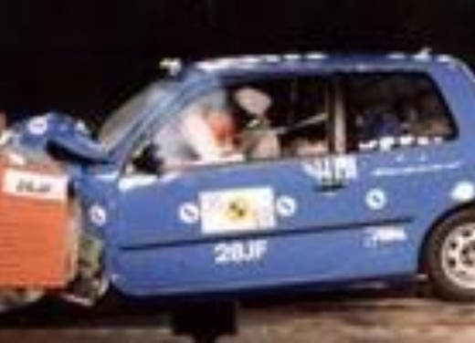 Crash test Volkswagen Lupo