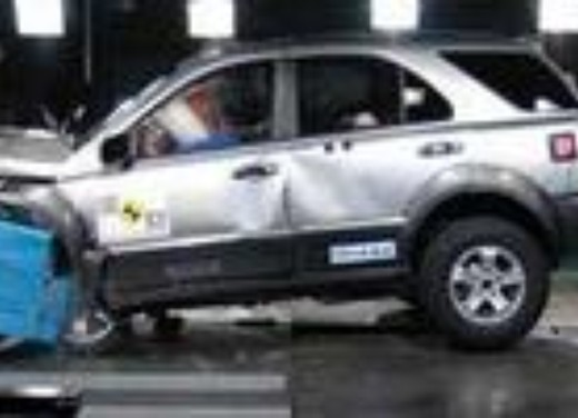 Crash test Kia Sorento