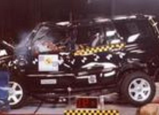 Crash test Suzuki Grand Vitara 5p