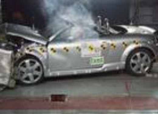 Crash test Audi TT Spider