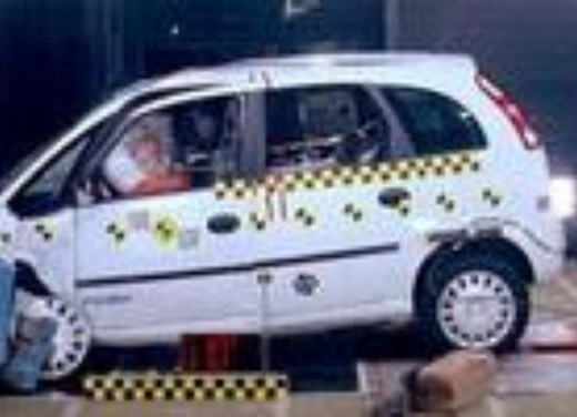 Crash test Opel Meriva