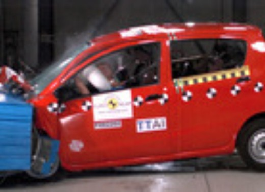 Crash test Daihatsu Cuore
