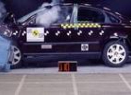 Crash test Volvo S40