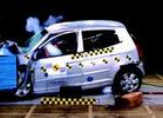 Crash test Kia Picanto