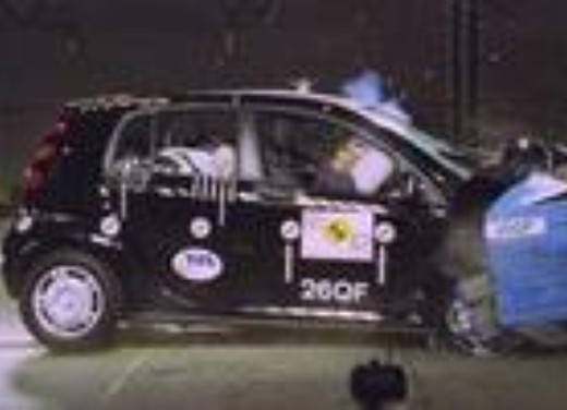 Crash test Smart Forfour
