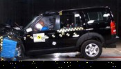 Crash test Land Rover Discovery 3