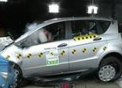 Crash test Mercedes Classe A 5 porte