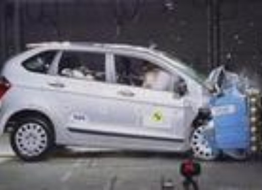 Crash test Honda FR-V