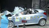 Crash test Opel Tigra Twin Top