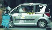 Crash test Peugeot 1007