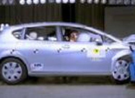 Crash test Seat Leon '05