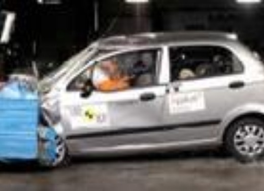 Crash test Daewoo Matiz