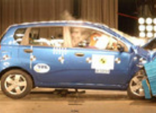 Crash test Daewoo Kalos