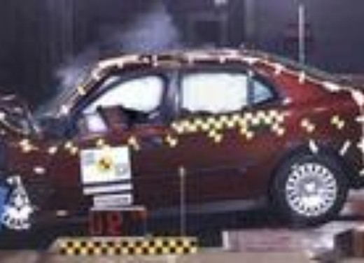 Crash test Saab 9-3 Cabrio
