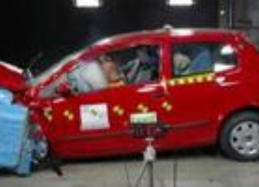 Crash test Volkswagen Fox