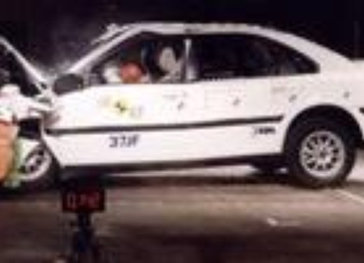 Crash test Volvo S80
