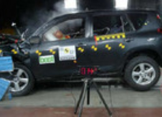 Crash test Toyota Rav 4 (vecchio)
