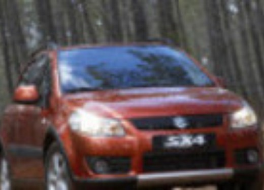 Crash test Suzuki SX4