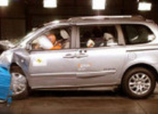 Crash test Kia Nuova Carnival