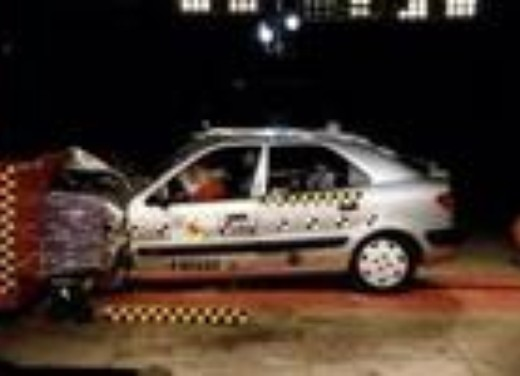 Crash test Citroen Xsara Picasso