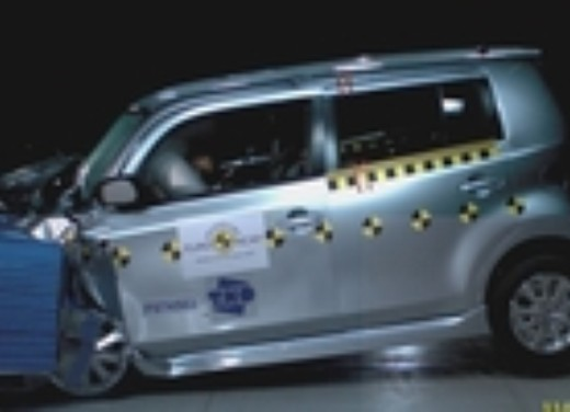 Crash test Daihatsu Materia