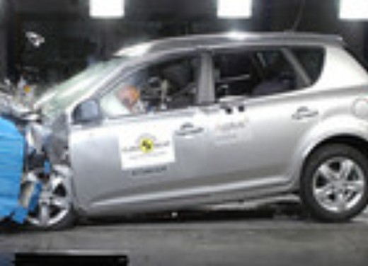 Crash test Kia Cee'd 5 porte