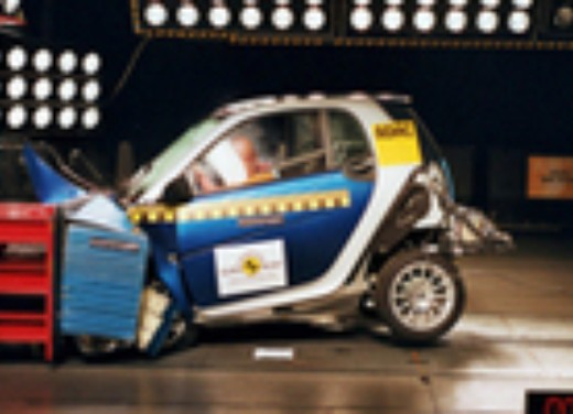 Crash test Smart Nuova fortwo coupé