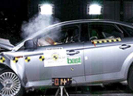 Crash test Ford Mondeo 5p