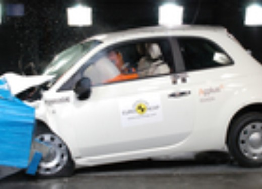 Crash test Abarth 500