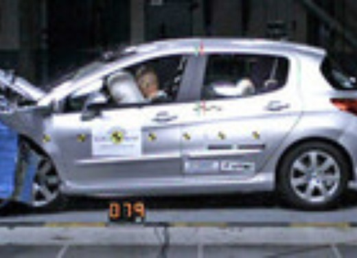 Crash test Peugeot 308