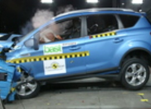Crash test Ford Kuga