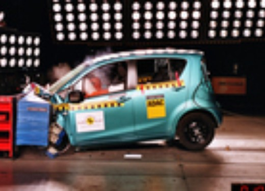 Crash test Suzuki Splash