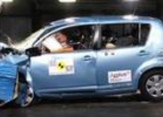 Crash test Daihatsu Sirion
