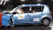Crash test Daihatsu Sirion