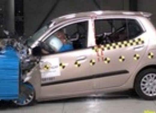 Crash test Hyundai i10