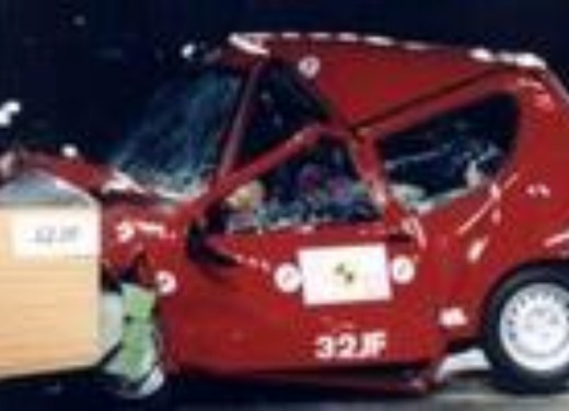 Crash test Fiat Seicento