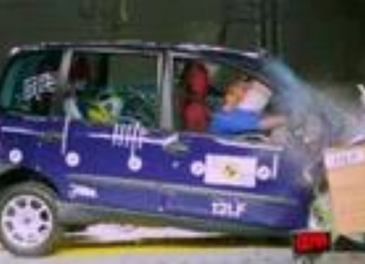 Crash test Fiat Multipla