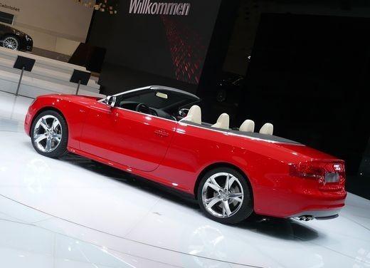 Audi A5 Cabrio, si scopre l'elegante quattro posti tedesca - Foto 4 di 31