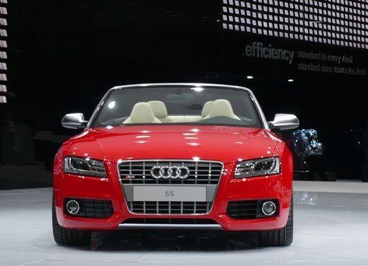 Audi A5 Cabrio, si scopre l'elegante quattro posti tedesca - Foto 3 di 31