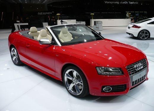 Audi A5 Cabrio, si scopre l'elegante quattro posti tedesca - Foto 1 di 31