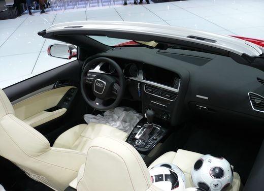 Audi A5 Cabrio, si scopre l'elegante quattro posti tedesca - Foto 6 di 31