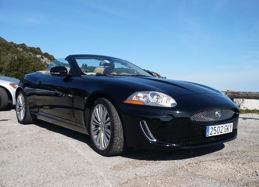 Jaguar XK Convertible - Test Drive