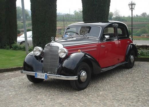 Auto d'epoca in Franciacorta