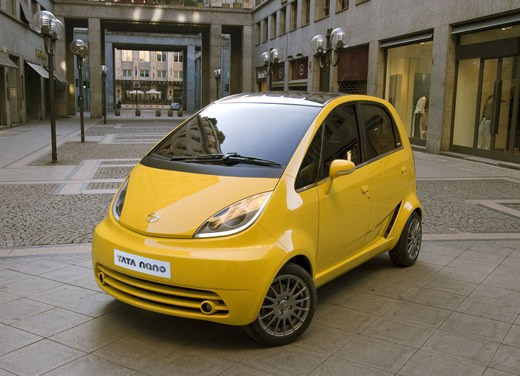 Tata Nano: test virtuale