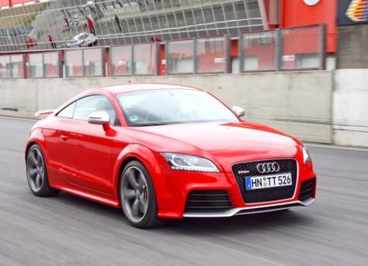 Audi TT RS - Test Drive per la coupè integrale da 340 cavalli