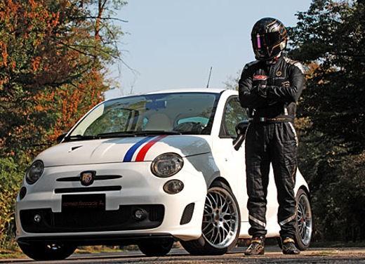 Fiat 500 Monza by Romeo Ferraris - Foto 4 di 21