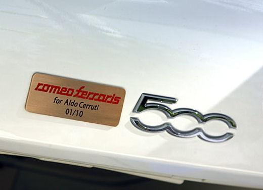 Fiat 500 Monza by Romeo Ferraris - Foto 8 di 21
